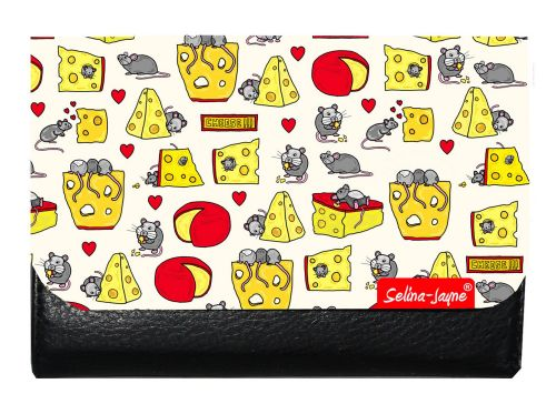 Selina-Jayne Mouse and Cheese Limited Edition Designer Small Purse